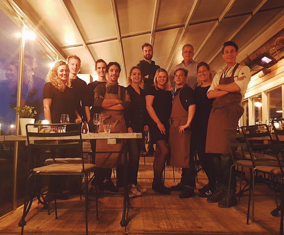 Het team van Como & Co tijdens de wildavond